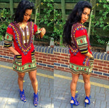 Red African Dashiki Shirt Cheap Price