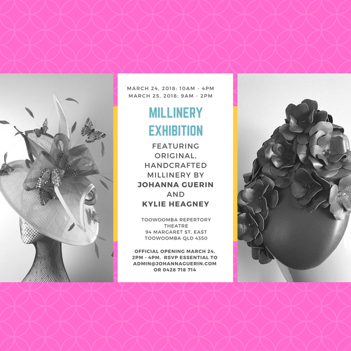 Millinery Exhibition, Autumn 2018, Toowoomba