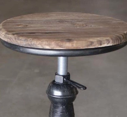Rustic Industrial Stool