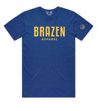 Bold Tee II - Royal Blue /Yellow