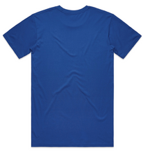 Graphic Tee Royal Blue / White
