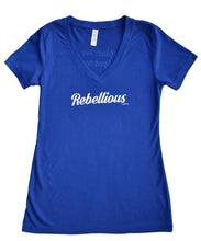 Rebellious V-Neck Tee