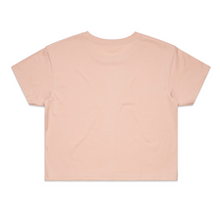Summer Salmon Beach Crop Tee