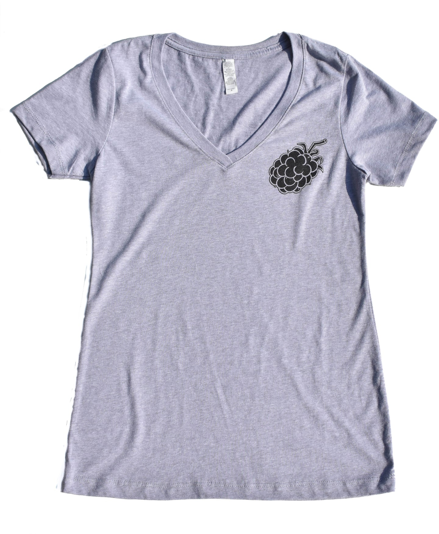 Berry V-Neck Tee