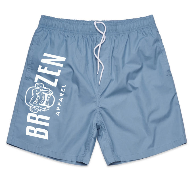 Summer Blue Beach Unisex Shorts