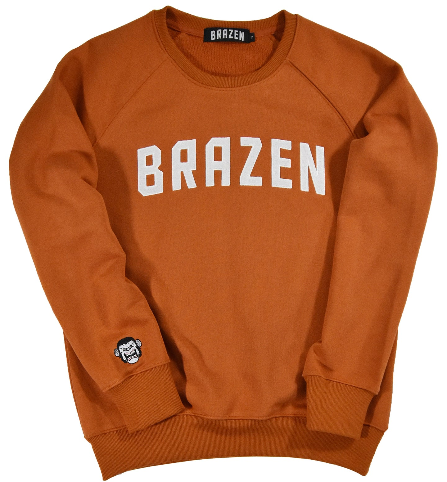 Brazen Sweatshirt - Burnt Orange