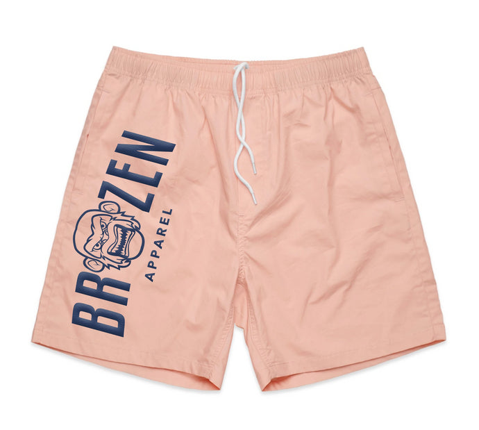 Summer Salmon Beach Short