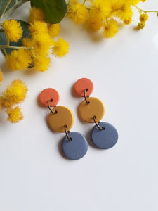 Locally Handcrafted Pendant Earrings
