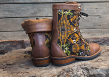 Load image into Gallery viewer, Size 36 Wanderer Boots Yellow Embroidery