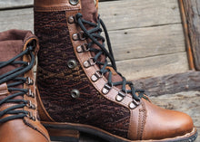 Load image into Gallery viewer, Size 37 Gypsy Boots Earth Tones