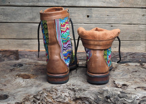 Size 38 Wanderer Boots Multi Patterns