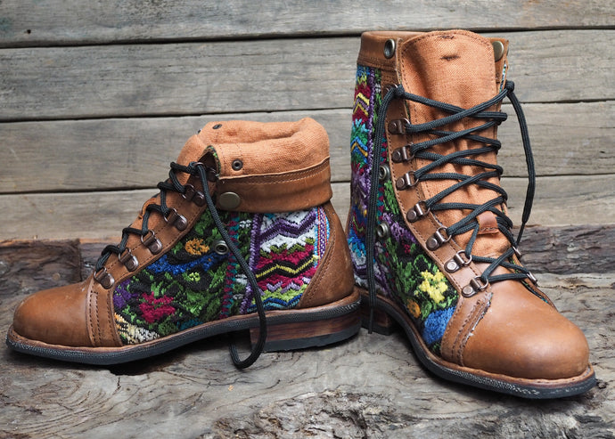 Size 38 Gypsy Boots Multi Patterns