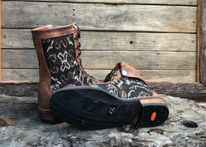 Size 43 Wanderer Boots Brown Patterns
