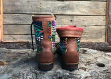 Load image into Gallery viewer, Size 43 Wanderer Boots Rainbow Embroidery