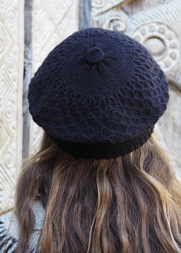Bolivian Aplaca Knitted Beanie