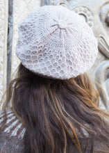 Load image into Gallery viewer, Soft Beige Bolivian Alpaca Knitted Beanie