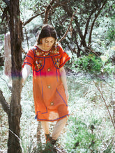 Load image into Gallery viewer, Romina Mini Dress in Rust