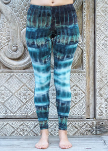 Tie Dye Leggings - Blue River