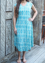 Load image into Gallery viewer, Turkish Tile Stretch Dress