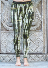 Load image into Gallery viewer, Tie Dye Leggings - Olive Ripples