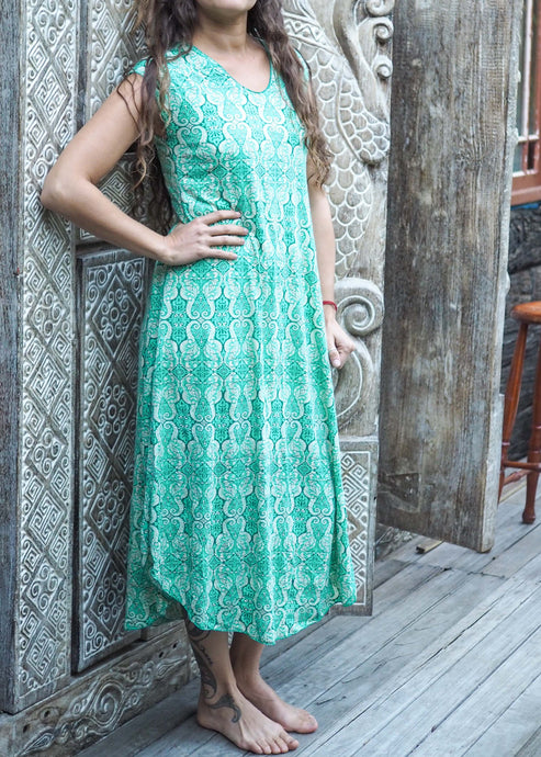 Turkish Tile Stretch Dress