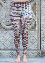 Load image into Gallery viewer, Tie Dye Leggings - Chocolate Glacier