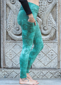 Pocket Leggings - Sea Green