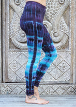 Load image into Gallery viewer, Tie Dye Leggings - Purple River