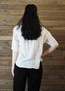 Frida Flow Top White