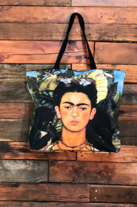 Frida Bag-Thorn Necklace and Hummingbird