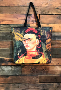 Frida Bag-Monkey and Red Ribbon