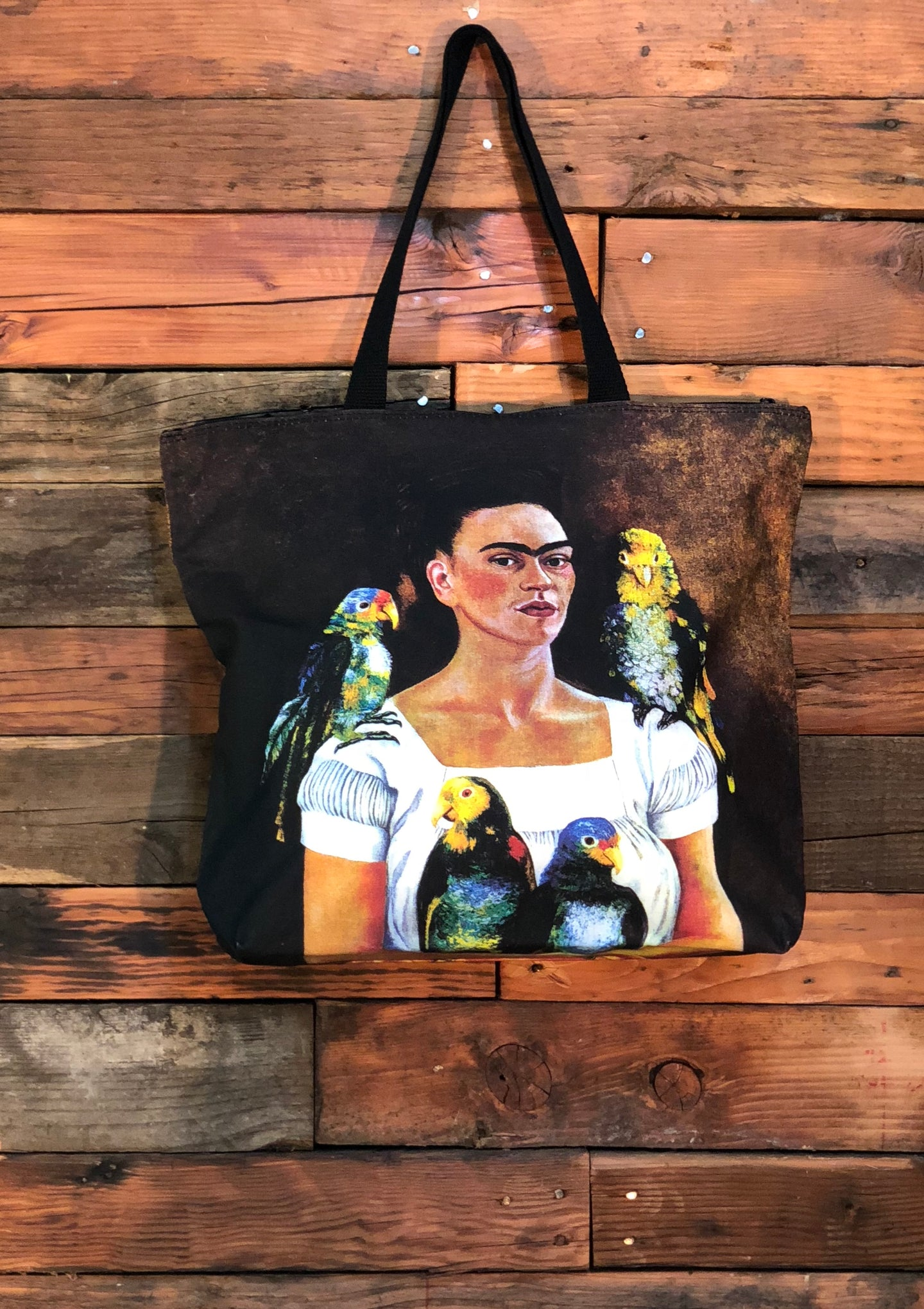 Frida Bag-Me and My Parrots