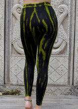 Load image into Gallery viewer, Tie dye Leggings- Icicle Lime Green