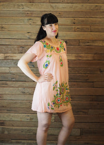 Little Frida shift Dress - Apricot