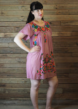 Load image into Gallery viewer, Little Frida shift Dress - Dusty Pink