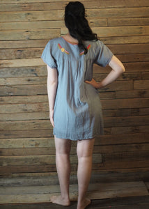 Little Frida shift Dress - Grey