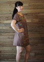 Load image into Gallery viewer, Little Frida shift Dress - Latte