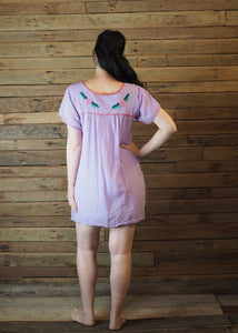 Little Frida shift Dress - Lilac