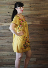 Load image into Gallery viewer, Little Frida shift Dress - Mustard