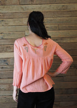 Load image into Gallery viewer, Little Frida Top Long Sleeve - Salmon