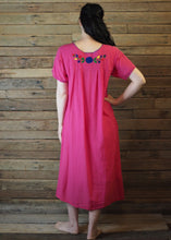 Load image into Gallery viewer, Long Frida Dress Hot Pink