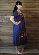 Load image into Gallery viewer, Long Frida Dress Navy