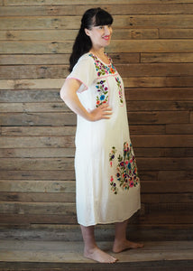 Long Frida Dress Off White