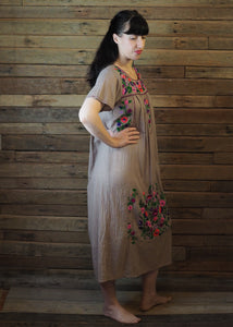 Long Frida Dress Taupe