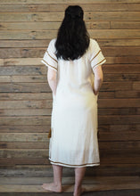Load image into Gallery viewer, Romina Maxi Dress in Vintage White