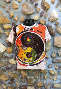 Small Funky Tee - Tao Planets - Beige