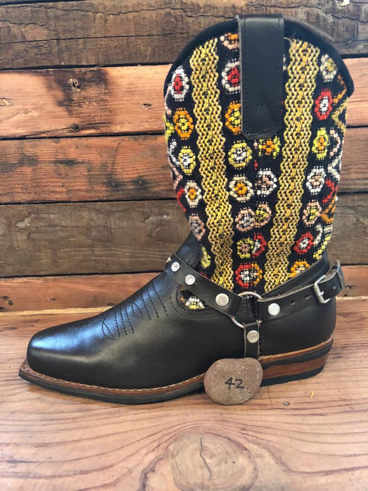 Size 42 Blunt-toe Cowgirl Bling Boots Funky Fun