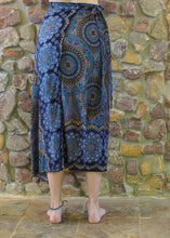 Load image into Gallery viewer, Wrap-Around Skirt - Blue