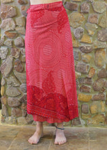 Load image into Gallery viewer, Wrap-Around Skirt - Red