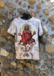 Extra Large Funky Tee - Medicine Man - Light Brown